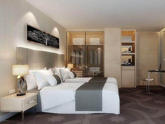 【宾馆标准间图片】宾馆房间装修效果图欣赏