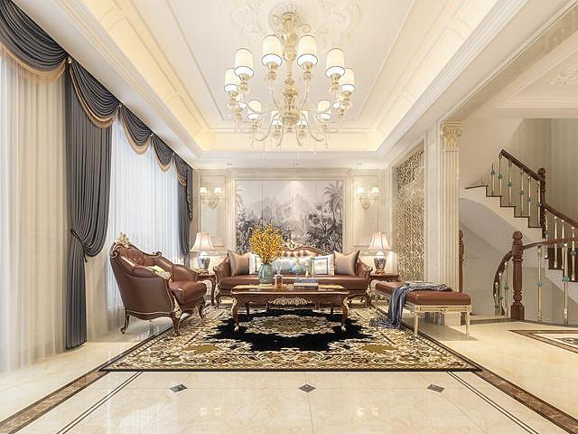 【装修吧】15万打造欧式风格室内装修设计
