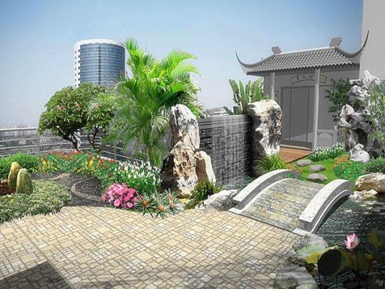 【楼顶花园】市民楼顶上建花园合法吗?