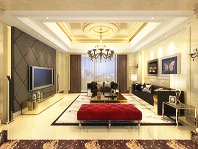 【客厅十字绣图案】室内地板砖装修图片欣赏