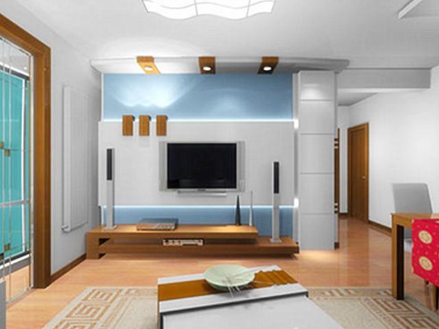 【贴房】电视背景墙装修效果图大全2021图片
