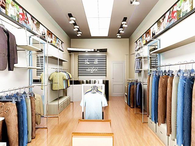 【服装店装修图片】新古典主义风格服装图片