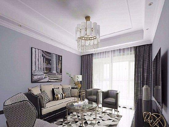 【室内装修设计图】浅灰色家具装修效果图