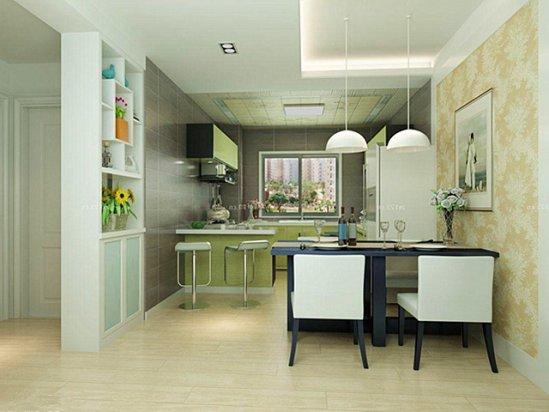 【艾格橱柜】家装餐厅设计效果图小户型