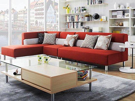 【红苹果家具图片】红苹果布艺沙发图片大全