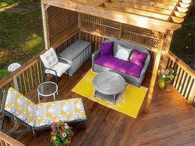 40平米露台装修 40平方顶楼露台花园如何设计