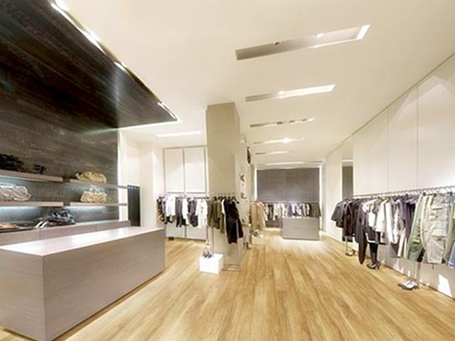 服装店装修材料 服装店地面铺装用什么好