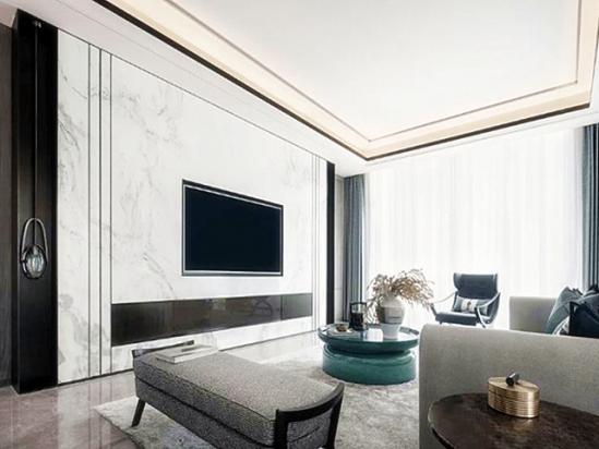 房屋装修设计 电视背景墙装修效果图2021新款
