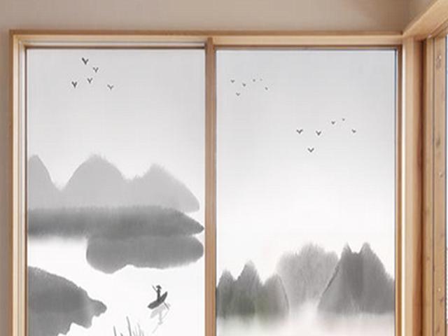 卫浴装修效果图 卫生间窗户贴膜好还是窗帘好