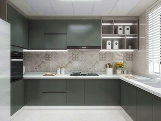 厨房装修颜色风水 家庭厨房装修效果图片大全