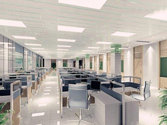 写字楼设计 高端写字楼装修效果图2021图片