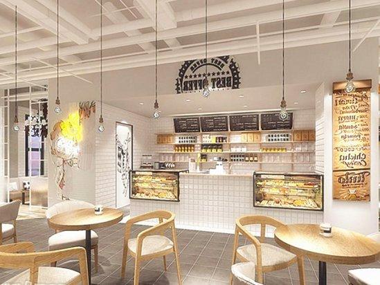 咖啡厅设计说明 咖啡厅效果图图片大全2021