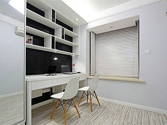 小型别墅图片 书房装修效果图大全2021图片