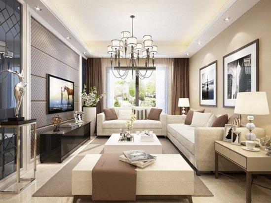三室二厅装修 简装110平方的房子效果图