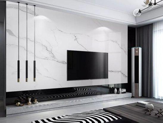客厅设计 客厅背景墙装修效果图2021新款