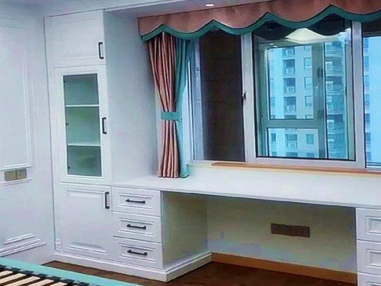 飘窗窗帘效果图 飘窗装修效果图片大全
