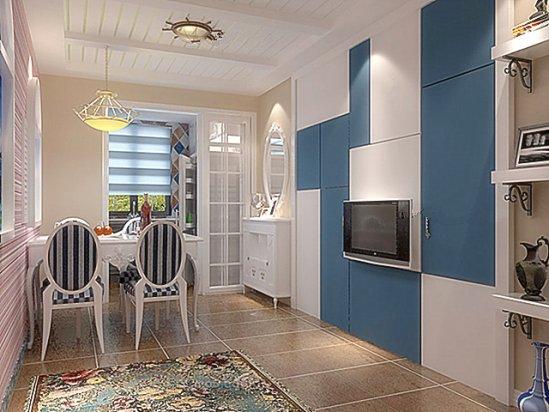 一室一厅房子 60平一室一厅装修效果图图片