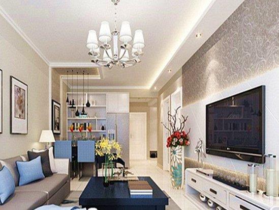 两室一厅的装修 70平米两室一厅装修效果图