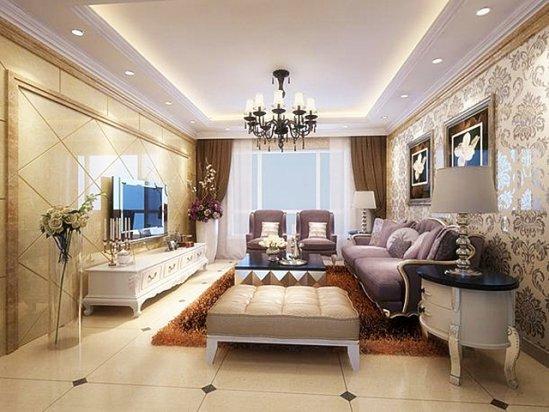 武汉家装公司排名 四室一厅房子装修效果图